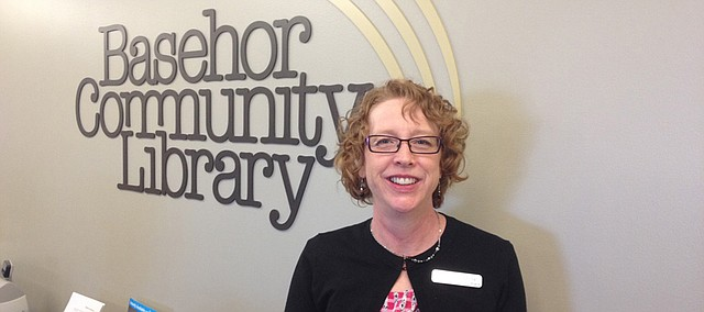 Janice Garcia, Basehor Community Library assistant librarian and former library board member.