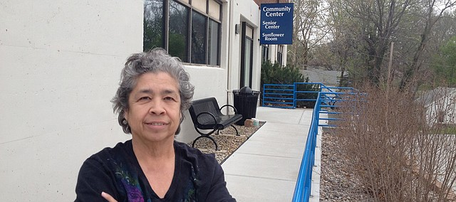 Gloria Ochoa, director of the Bonner Springs Senior Center.