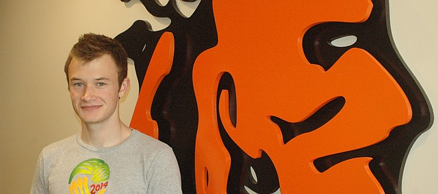 Sam Nelson was named a valedictorian of Bonner Springs High School Class of 2015.