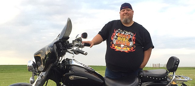 Jason Harrington has participated in several motorcycle events raising funds for charities; now an event has been organized for his benefit.