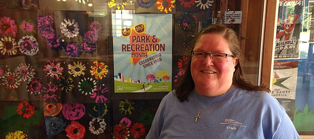 Patty Nickell, director of Great Adventure Summer Camp for Bonner Springs Parks and Recreation.