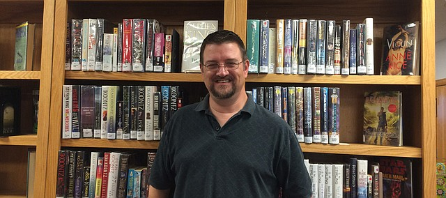 Mike Washburn, director of the Linwood Community Library.