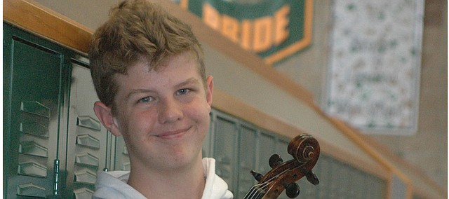 Tristan McGehee, BLHS sophomore, was recently selected for a second time to participate in the Kansas City Youth Symphony.