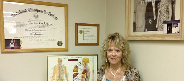 Martha Aitkens, longtime Bonner Springs chiropractor.