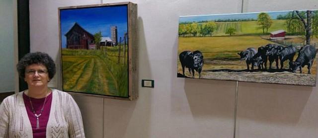 Work of Baldwin City artist on display at Douglas County
