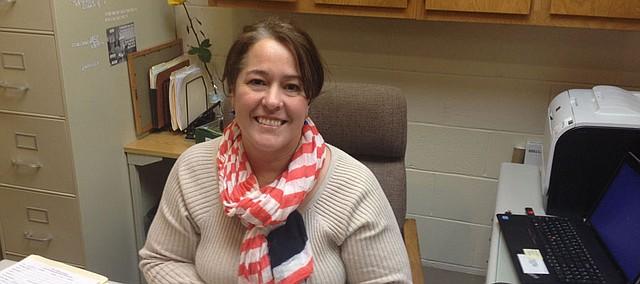 Christina Brake, deputy city clerk for Bonner Springs