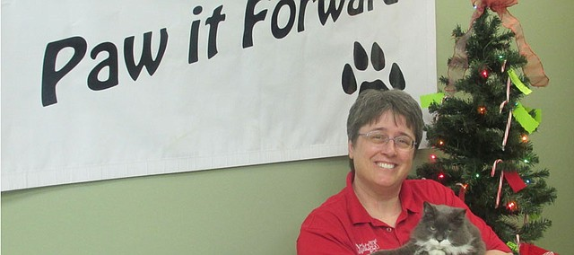 Nikki Green is the owner and lead veterinarian at Wolf Creek Veterinary Clinic in Basehor, which was the November Basehor Chamber of Commerce Business of the Month.