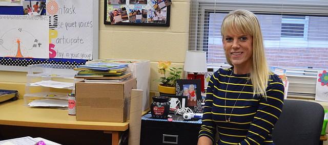 Sarah Kassen is the Bonner Springs-Edwardsville Chamber of Commerce Teacher of the Month for December.