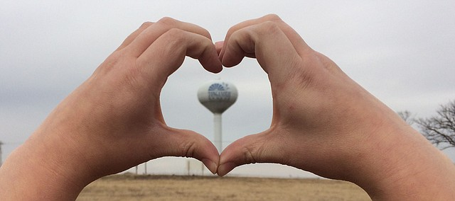 What do you love most about Tonganoxie? Tell the world on social media using the hashtag #ihearttonganoxie or apply the hashtag to whatever town has your heart: #iheartmclouth, #iheartlinwood, #iheartbasehor and so on.