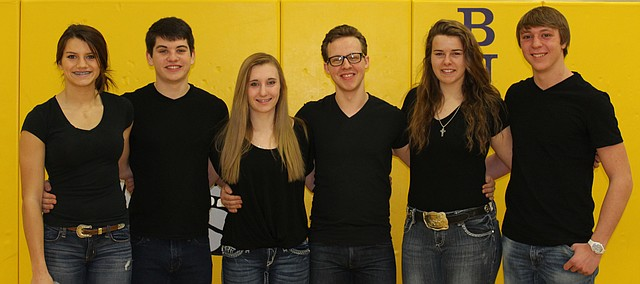 McLouth High School will have its King and Queen of Courts coronation at halftime of the boys basketball game Friday, Feb. 11, 2016, at the MHS Gold Gymnasium.