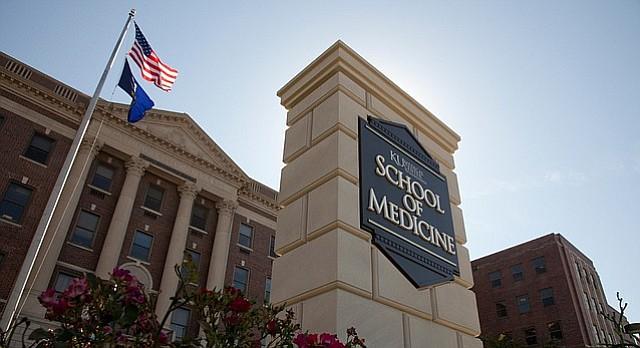 This 2011 file photo shows Kansas University Medical Center's School of Medicine, 3901 Rainbow Boulevard, Kansas City, Kan.