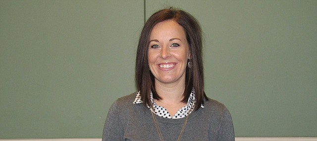 Erica Minton, fifth grade teacher, Prairie Ridge Elementary (USD 232)