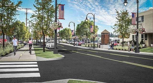 A multi-use side path along Nieman Road, between Shawnee Mission Parkway and 55th Street, is just one of the ideas consultants revealed at an open house Tuesday evening.