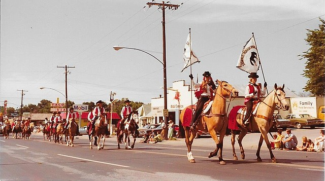 The Old Shawnee Days Parade in 1975.