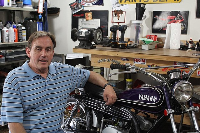 Kenny Howard, of Shawnee, will be showcasing a few of his vintage motorcycles at the Art of the Car Concours show this weekend.