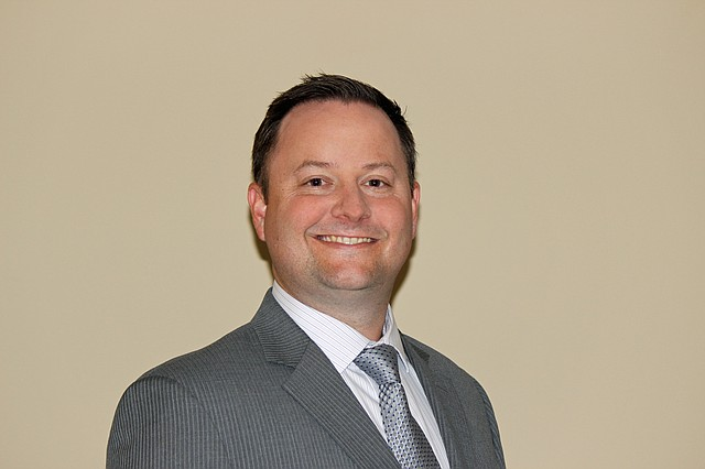 Nolan Sunderman is the new assistant city manager for the city of Shawnee.