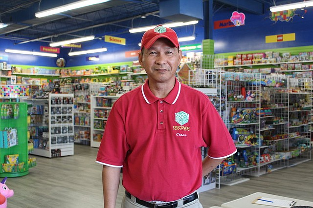 Cesar Conde, the owner of Go Big Skill Toys, recently relocated his store to a larger space within the 10 Quivira Plaza shopping center in Shawnee.
