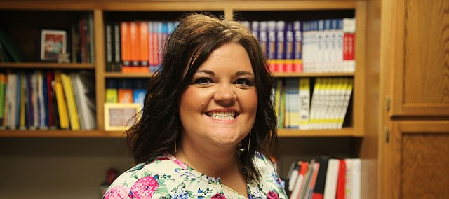 Tara George, Tonganoxie High School counselor for juniors and seniors.