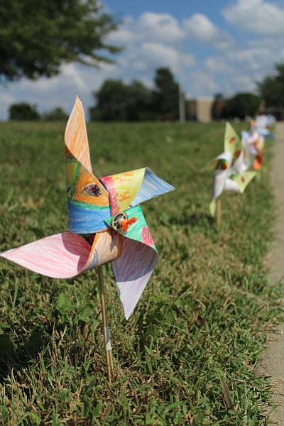Broken Arrow students spent weeks making pinwheels to recognize the International Day of Peace.