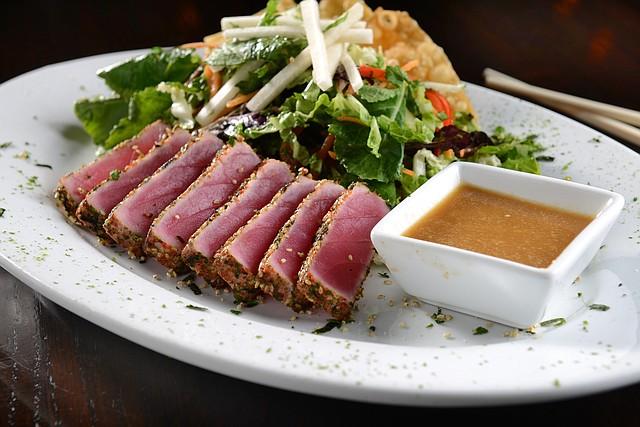 Seared Tuna Tataki Salad is one of Barley's Kitchen + Tap's newest menu items.