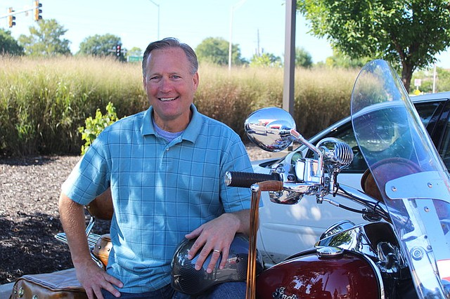 Gary Amble, a meteorologist for KCTV 5, is proud to call Shawnee home.