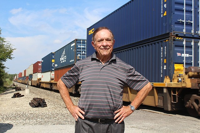 Jack Tredinnick, a member of the Brittany Ridge subdivision railroad horns committee, has worked with the city to alleviate the train noise disrupting his neighborhood.