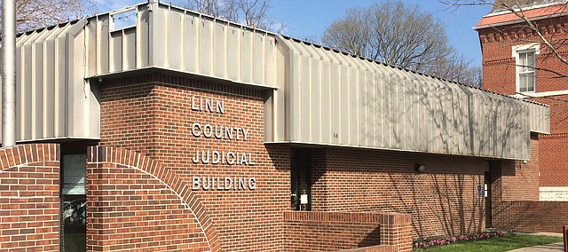 Linn County Judicial Building is the site of Tonganoxie USD 464 Supt. Chris Kleidosty's first appearance. Kleidosty gave a plea of not guilty to failure to report sex abuse at his former school district of Prairie View.