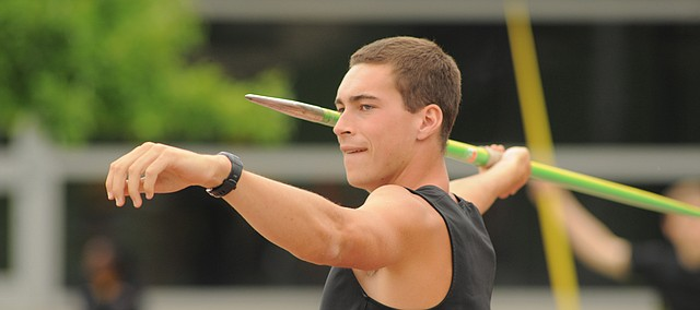 Ben Johnson, a 2014 Tonganoxie High School graduate won silver in the men's decathlon at the 2016 Missouri Valley Conference Outdoor Track and Field Championships in Terre Haute, Ind., and gold Saturday, May 13, at the 2017 MVC championships on his home turf, Cessna Stadium on the Wichita State University campus.