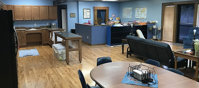 The Pathways transition program has a new home in the former Tonganoxie police station at Third and Delaware streets.
