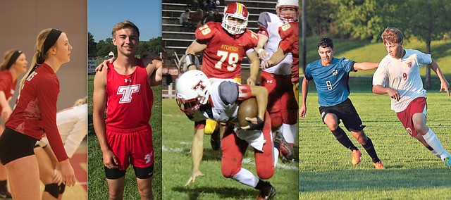 Tonganoxie High landed several student-athletes on 2017 all-Kaw Valley League teams for fall sports.