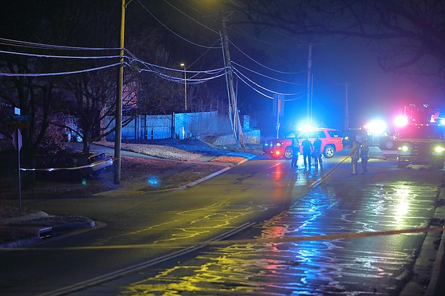 Shawnee Police, Fire, and Johnson County Med-Act responded to the scene of a deadly crash at 75th Street and Westgate Lane just after 4 a.m. Monday.