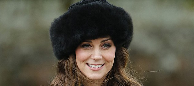 Duchess of Cambridge Kate Middleton wears a hat Christmas Day that came from Peruvian Connection.