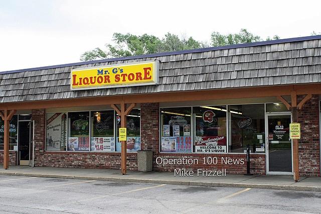 File image - Mr. G's Liquor Store at 7635 Quivira Road