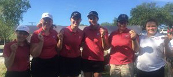 Tonganoxie High competes Aug. 30, 2018, at Lake Perry Country Club.