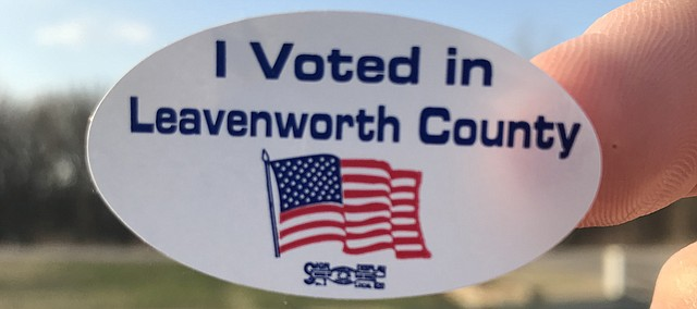 Leavenworth County election.