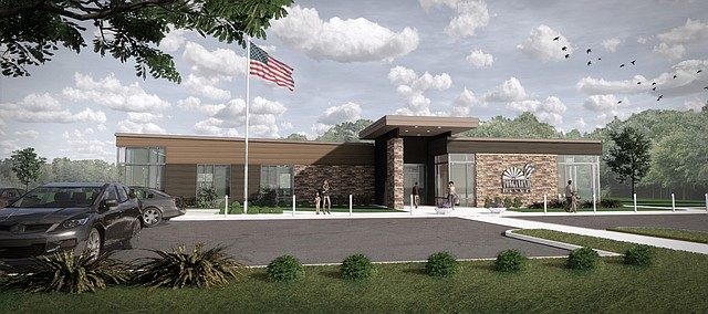 Here's a look at the new Tonganoxie Public Library. The project is expected to be finished in February 2020 and opened in March, weather permitting.