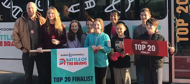 Tonganoxie Middle School will try to land a finalist in the 2019 Battle of the Brains.