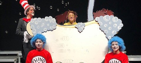 "Tonganoxie High perform a scene from ""Seussical"" this past week at the Tonganoxie Performing Arts Center. THS students presented the musical Thursday, Saturday and Sunday."