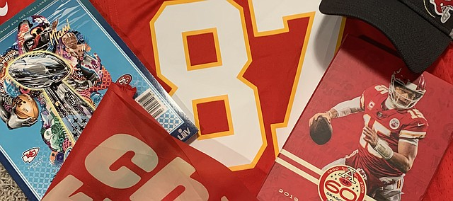 There has been a lot to celebrate — and collect — in the Kansas City area this past month, thanks to the Chiefs.  Fans will get the chance to celebrate once more — weather permitting — with the Chiefs Kingdom Champions Parade this morning.