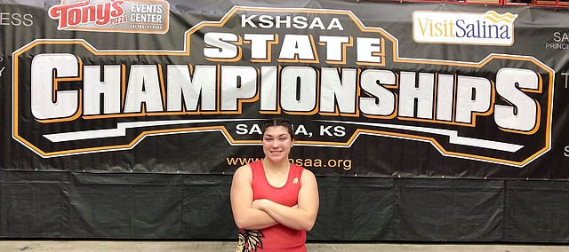 Tonganoxie High's Holly Colvert