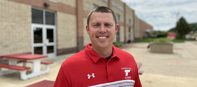 Cody Witte is the new activities director at Tonganoxie High School. He started the new post July 1. He comes to THS from Jackson Heights near Holton.