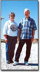 Florence Somers and Virgil Fields likely will never forget the May 11, 2000, tornado that hit their farm, which is west of Tonganoxie.