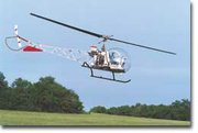 Lenny Lawson lifts up the helicopter for an overhead view of the hills of southern Leavenworth County.