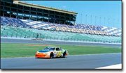 Action at the Kansas Speedway got under way this past weekend. About 45,000 fans attended the races.
