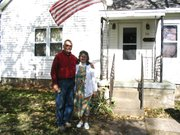 The Chinns' home in north Lansing received new windows and an improved back porch