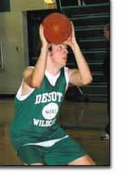 Off-season conditioning has made Brett Maasen an important part of this year's Wildcat basketball team. The senior and the rest of the 2004-2005 De Soto High School team will start playing for real Tuesday at the Central Heights tournament.