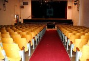 Drama students use the intermediate school auditorium for performances