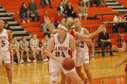 Amanda Radovich has asserted herself as a force for the Lansing High girls this season.