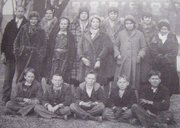 Leavenworth County's Nine-Mile 4-H Club in the 1920s.