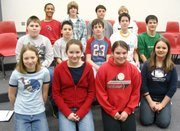 The middle schoolers who participated in District choir.